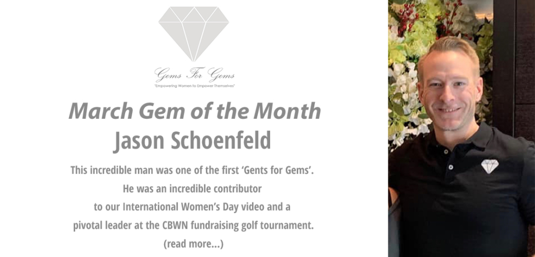 The Gem of the Month for March is Jason Schoenfeld